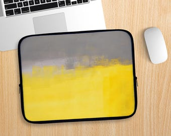 A Simple Abstract Laptop Sleeve
