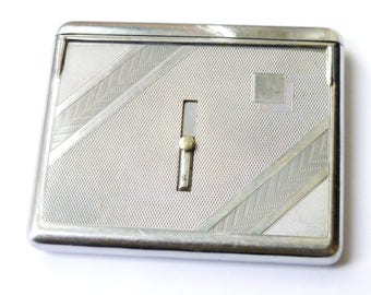 Unusual Art Deco Cigarette Case
