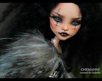 Custom Listing For Isabelle | Monster High Repaint Art Doll OOAK – Cleo De Nile | Chemahni | Final Payment 2 of 2