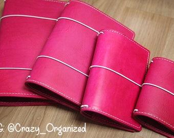 Fuchsia Travelers Notebook