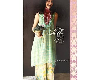 Tina Givens Vrille Dress and Pants Pattern
