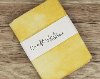 28ct Hand-dyed Zweigart Linen - Mustard