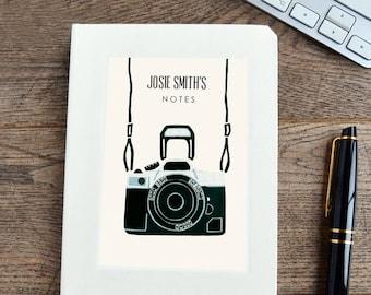Personalised Camera Notebook