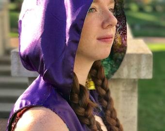 Mystic rave festival hood