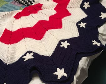 Made to order Patriotic Tree Skirt