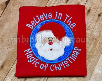 Believe in the Magic of Christmas T-shirt or Infant Bodysuit, Kids Christmas Shirt, Toddler Christmas Shirt, Boys Christmas T-Shirt