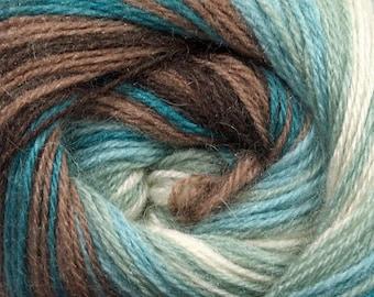 400 gr Mohair Yarn, Self Striping Knitting Yarn, Wool Yarn For Knitting, Sport Weight Crochet Yarn, Warm Yarn, Mohair Blend Yarn, Bulk Yarn
