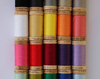 Sewing Thread - 100% Organic Cotton, Perfect for Machine & Hand Sewing