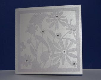 Multitudes of flowers birthday card