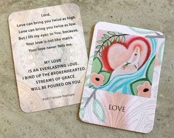 Love Prayer Card