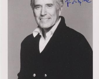 John Forsythe Original Vintage Hand Signed 8X10 Autographed Photo