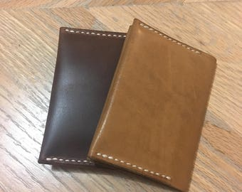 Twin Pines Wallet - Horween Tochigi and Shell Cordovan Options