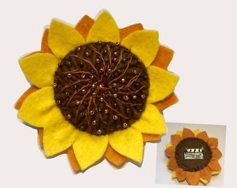 Sunflower ID/Badge Holder