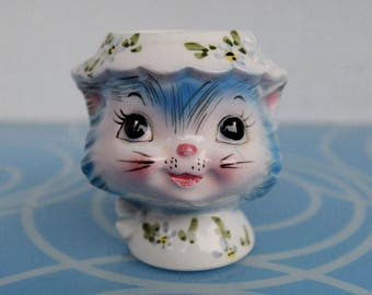 Lefton's Miss Priss Egg Cup - CUTE!
