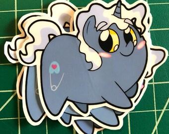 Pony Chubs! Pokey Pierce Sticker