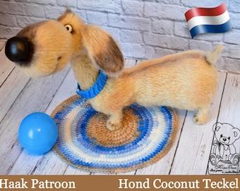 170NLY Haakpatroon - Hond TeckelDachshund Coconut - Amigurumi soft toy PDF file by Ogol Etsy