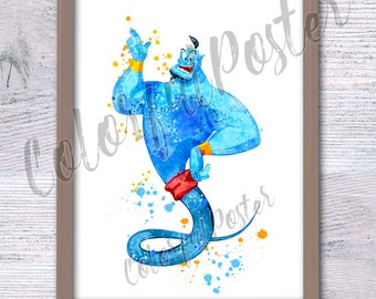 Aladdin Painting Etsy