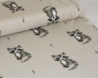 Gotta The Racoon Beige Organic Cotton Jersey ALLGOTS UK Seller