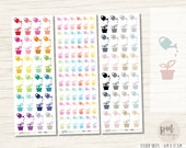 Water Plants Icon Mix Stickers - Planner Stickers - IM16