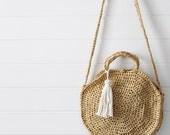 Crochet Pattern - Mckenna Summer Round / Circle Bag / Purse