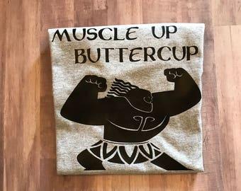 Boys' Moana T-Shirt - Mini Maui - Muscle Up Buttercup