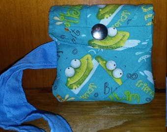 Frog And Friends Coin Purse