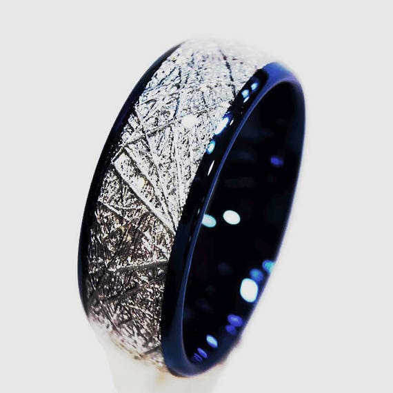 Mens Wedding Rings Blue