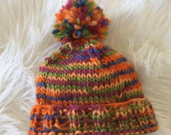 Baby Beanie - Multi Color