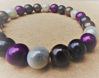 NEW Hand Crafted Miracle Bead Asexual  'Glow' Bracelet