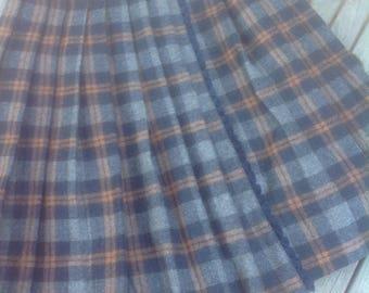 Kilt/ Plaid Skirt women's with shorts