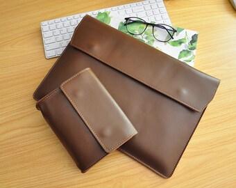 """13Inch Laptop Sleeve Leather Macbook Pro 13""""Sleeve Macbook Pro Retina Case Macbook Pro 13 Leather Case for Macbook Air 13,Macbook Air 11-077"""
