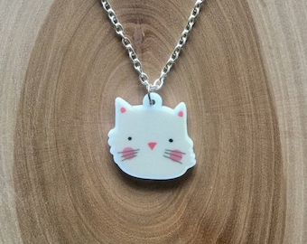 Cute Kittie necklace <3