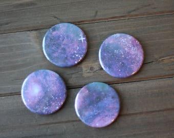 Purple Galaxy Magnets