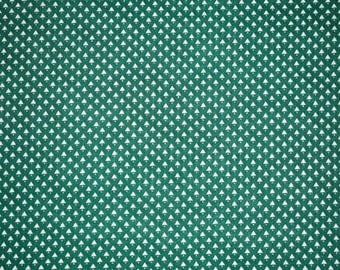 Green Christmas Tree Fabric, Christmas Tree Fabric, Christmas Quilting Fabric, Vintage Christmas Fabric, Vintage Fabric, Holiday Fabric