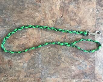 Alligator green leash