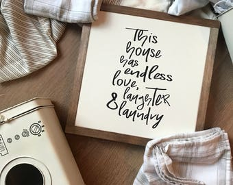 Love, laughter & laundry