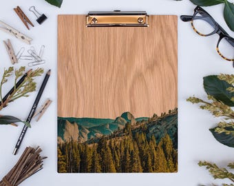 Yosemite Half Dome, Wood Clipboard, National Parks, California Images