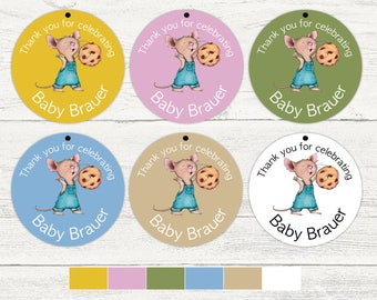 Storybook favor tags