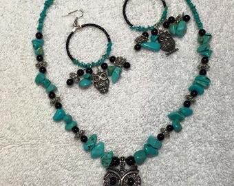 Turquoise Owls