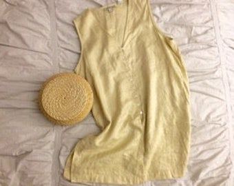 Lemon Grove Minimal Buttondown Blouse