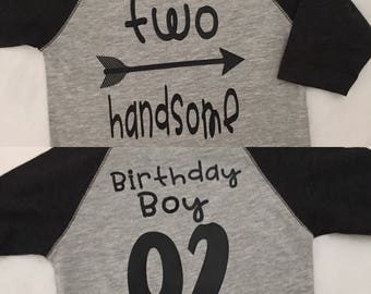 Two handsome Birthday shirt