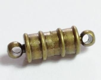 1pc Antique Bronze Magnet Clasp - Jewelry Clasps - Magnetic Clasp - Bracelet Clasp - Necklace Clasps - Bronze Clasps - B14933