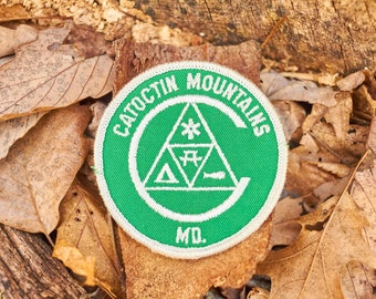 Catoctin Mountains park patch from the 1970's