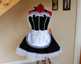 French Maid apron.