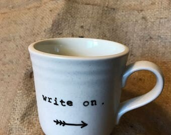 Write on WHITE MUG