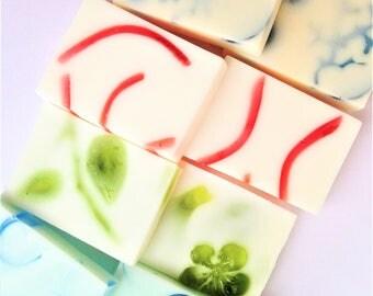 Soap Samples, Mini Soaps, Soap Bar Sampler, Assorted Soaps, Variety Soap Pack, Soap Sampler Set, Favor Soap