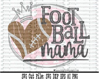 Football SVG, Cut file, Football mama svg file socuteappliques, SvG Sayings, back to school svg, football svg, fall svg, football mom svg