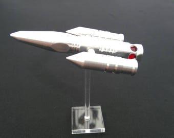 Space ship sculpture