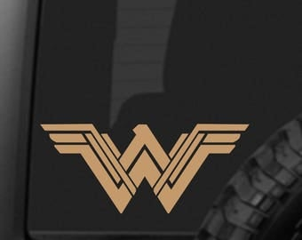NEW STYLE Wonder Woman Decal Sticker for Car Truck Laptop