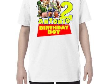 Toy story birthday shirt